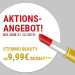 Vorweihnachtliches Angebot: 66% Rabatt auf eTermio Beauty